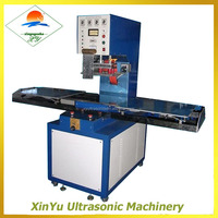single head shuttle tray style high frequency welding machine for PVC/TPU/EVA