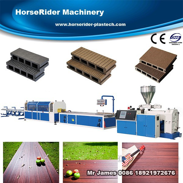 High popualr WPC(wood-plastic) deck flooring plastic extrusion machinery