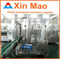 RO water bottling machine, Clean technology drinking water filling plant 3 in 1 mineral water filling machine