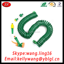 Factory Export Green/Black Retractable Coil Spring, Flat Coil Springs, Tension Coil Springs