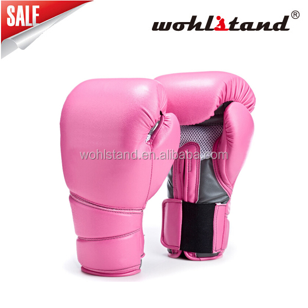 2016 Hot Sells New Design PU Leather Boxing Gloves