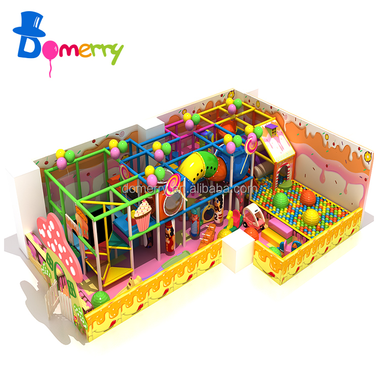 Factory Supply Bright Color Electric Kid Play Indoor Playground Set For Sale