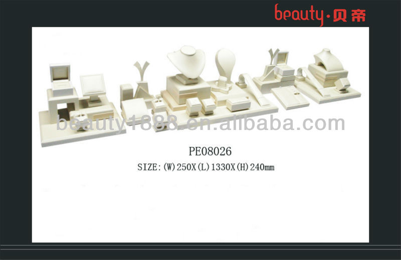 Elegant design Counter window jewelry display stand for necklace, ring, pendant and bracelet