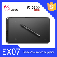 Factory OEM UGEE EX07 8*5 Inch Digital Graphic Tablet