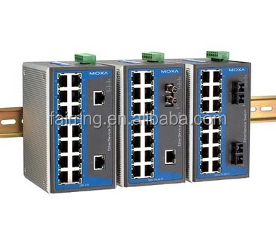 MOXA EDS-508A-MM-SC 2 port 6 light industrial Ethernet switch