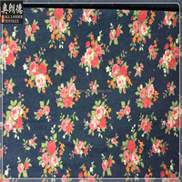 tropical african big flower print fabric sale