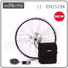 MOTORLIFE/OEM 700c mid electric bike conversion front wheel motor set/kit