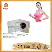 CE approved 100% natural Chinese herb magnetic slim patch/weight loss patch