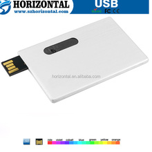 Europe and America Popular mini chip PVC card USB flash drive portable