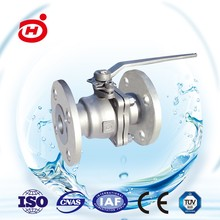 China Supplier High Quality Stainless Steel Flanged Ball Valve
