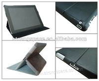 Top quality leather case for iPad3