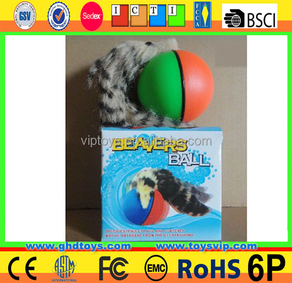 bettery open beaver ball for Kids Magic ball with colorful light in water