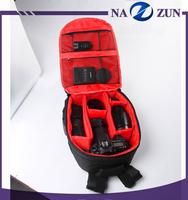 China Wholesale Best selling fashion waterproof camera bag backpack photo video dslr camera backpack with rain cover