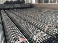 Hot Dipped Galvanized Carbon Steel Pipe with Threaded end and coupling/Groove end ASTM A53 A500 GRADE B BS1387