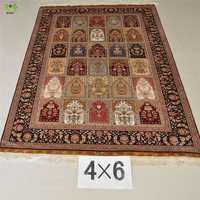 100% handmade modern and best quality pakistani silk carpets or rugs