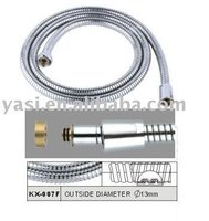 1.5m stainless steel extensible shower hose (KX-007F)