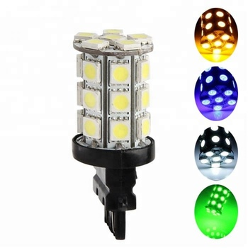 Practical WY21W W21/5W 7443 7440 T20 27SMD 5050 LED Car Turn Singal Brake Backup Reverse Parking Bright Lights
