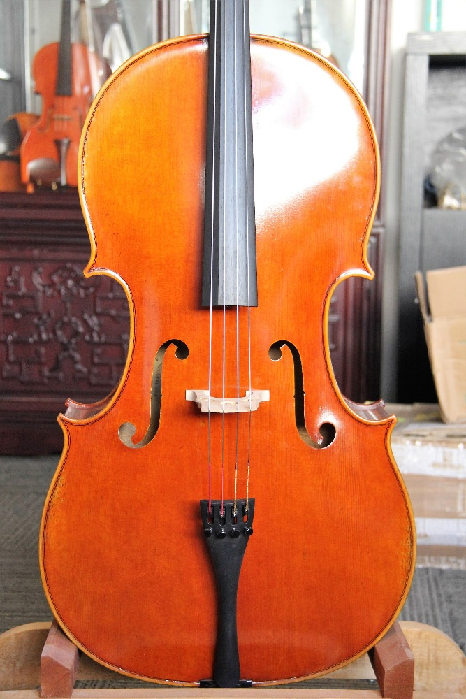Handmade fully carved professional grade cello