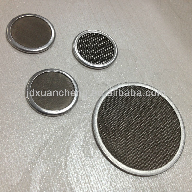 Stainless Steel Circular /Round Shape Screen Filter Packs /Extruder Filter Screen