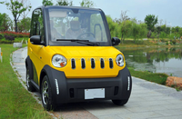 72V 7.5KW 2 seat small cars cheap electric cars four wheel electric car for sale with EEC certification