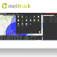 Meitrack mobile tracking software for pc with Accout Control Management