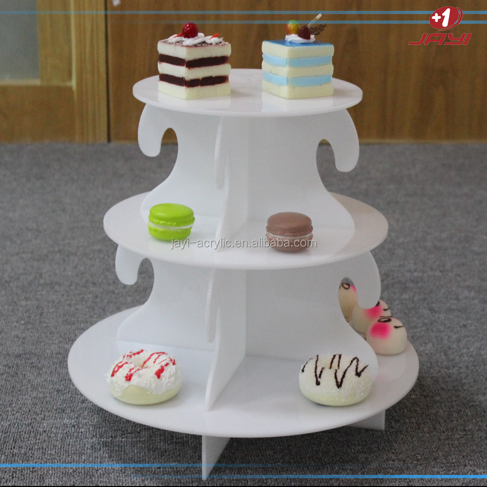 High Quality Custom 3-tier Cake Stand/Bread Display Rack
