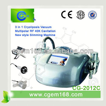 Multifunction cryolipolysis private label cellulite with CE