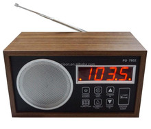 Wholesale projection fm hotel alarm clock radio