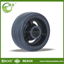 Wholesale from china pu foam rubber wheel 5 inch