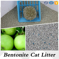 Strong Absorbing Bentonite Cat Litter for Daily Life Apple