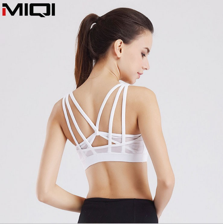 Wholesale Fitness Gym Yoga Bra Cross Back Sexy Girl Wear Bra Yoga Wear For <strong>Women</strong>