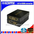 AV to hdmi converter Up scaler 1080P