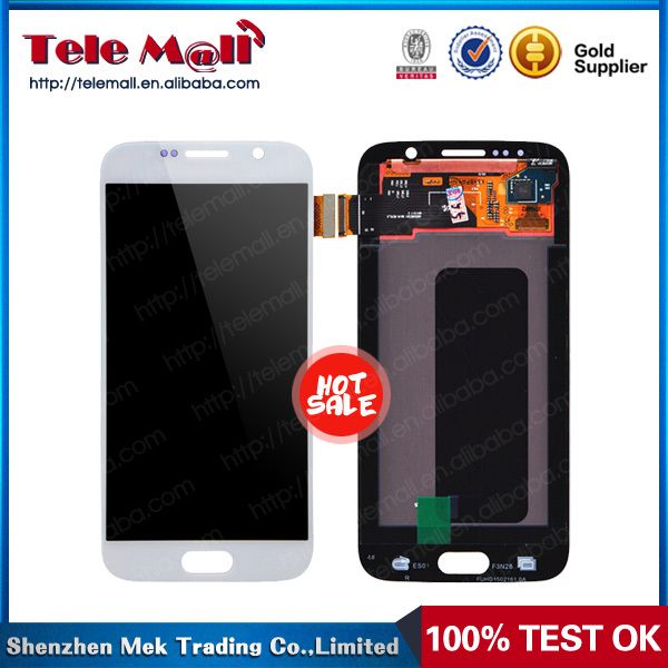for samsung galaxy s6 lcd screen display, wholesale price original touch screen for s6 lcd display