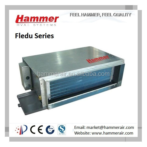 chilled water duct fan coil unit