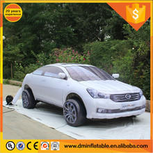 outdoor campaign inflatable model custom inflatable car/ inflatable bus for sale