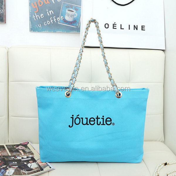 Design hot sell Eco-Friendly shopping Canvas pvc coated canvas shopping bag