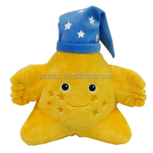 Star Plush with Night Cap Sleepnight Toy