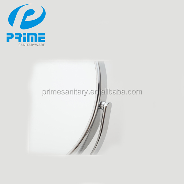 Guangdong supplier double sides magnifying metal cosmetic mirror