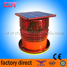 CK-11L-TZ Solar-Powered Low Intensity LED/FAA L810/ICAO TYPE B/Aviation Light/Flashing Beacon/navig China manufacturer low price