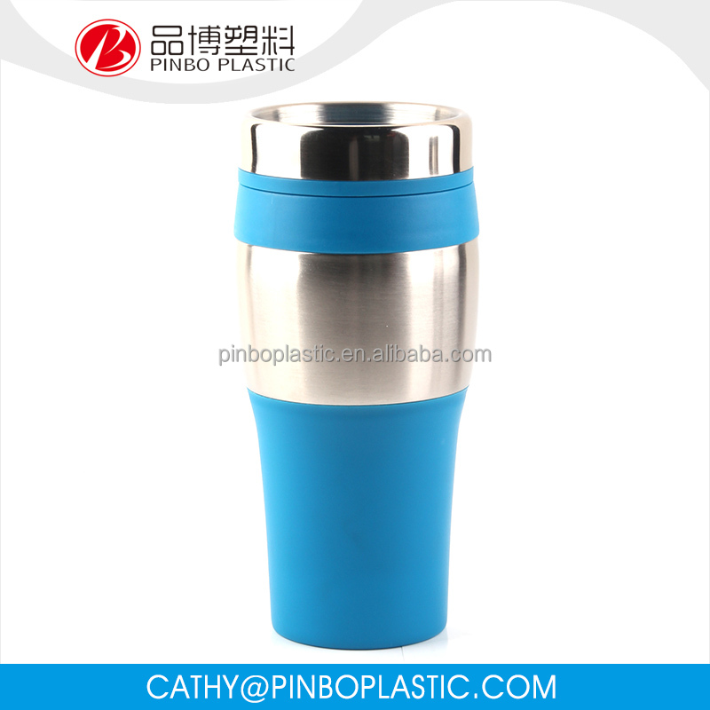100% Food Grade Material PP stainless steel Photo Travel Mug