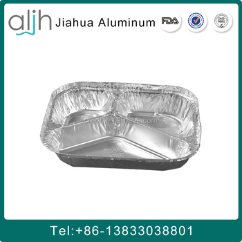 take away aluminum foil lunch containe