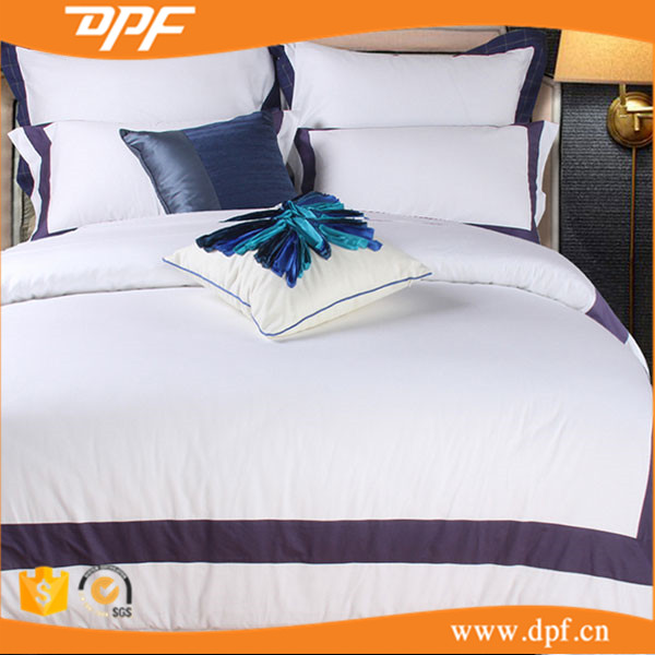 Hotel linen collection king size bedding duvet cover sets fabric emboridery