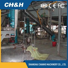 Wood chips glue machine for wood pallet sawdust block making line