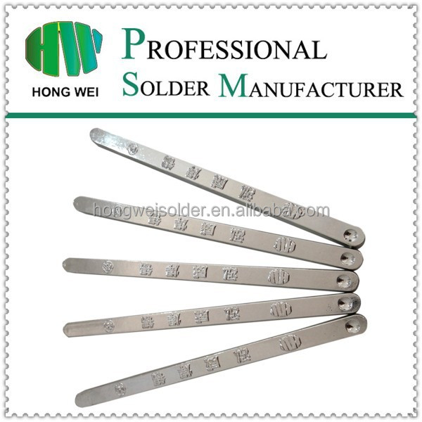 Tin copper Sn99.5Cu0.5 lead free welding bar