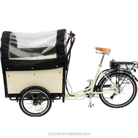 cargo tricycle witn cabin for passenger with pedel sensor