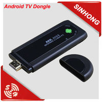 HDMI Android Smart TV Dongle Stick With Remote Control