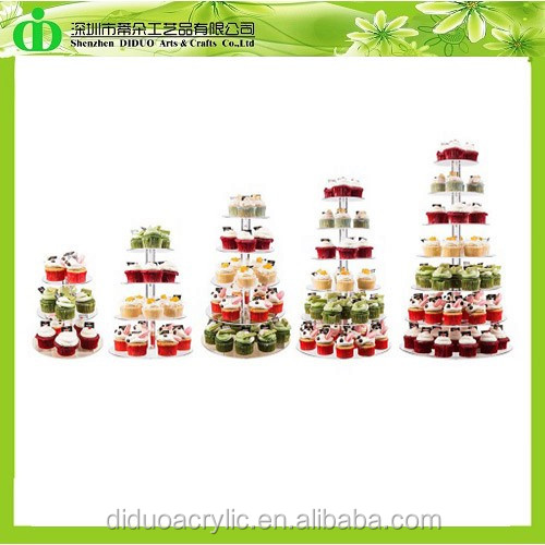 DDC-0325 Trade Assurance Cupcake Towers for Sale