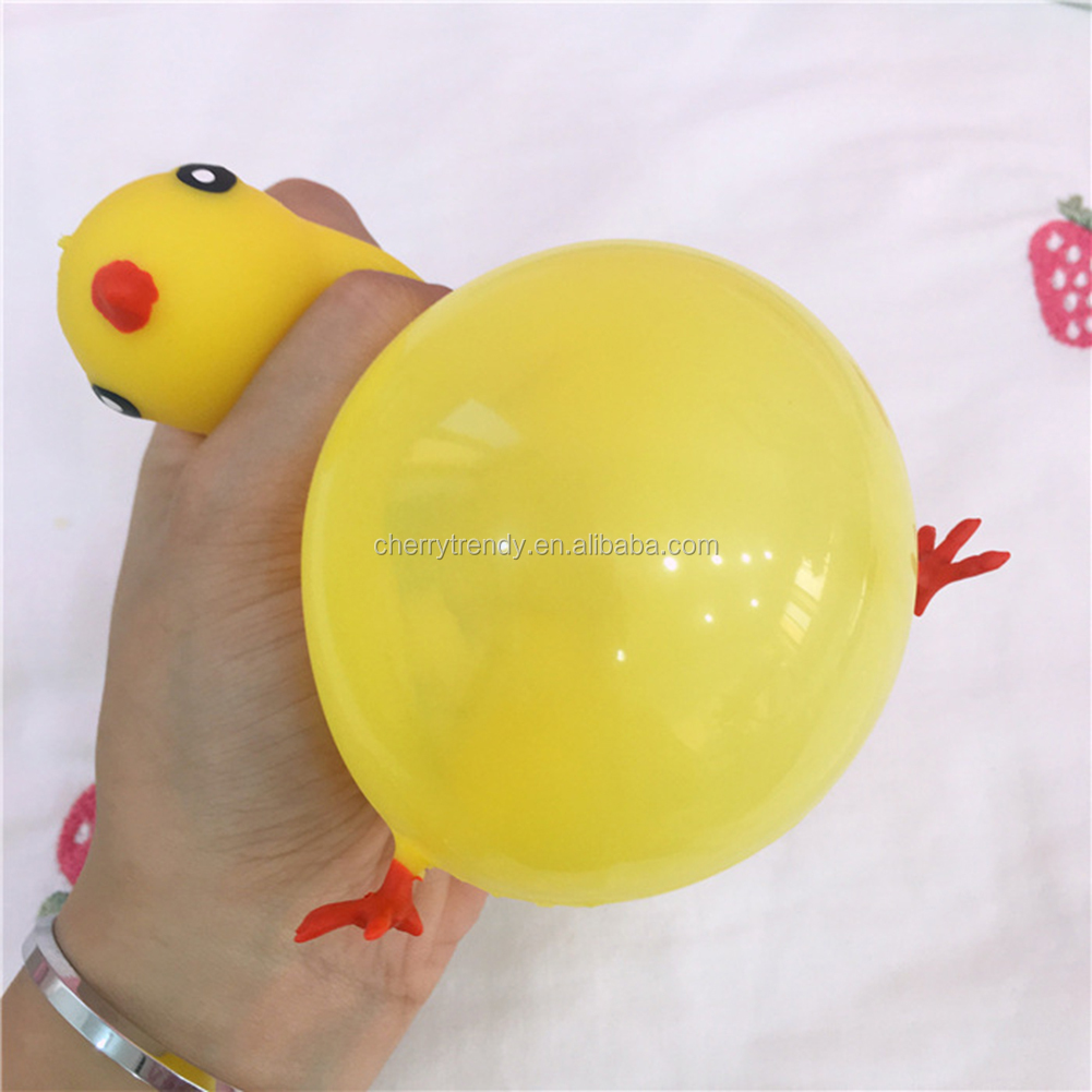 Blowing Squishy Fidget Animal Ball Blowing Squishy Toy