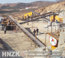 Gravel rock & sand crushing plant and artificial sand production line machine