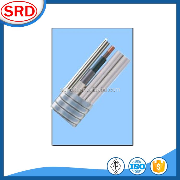 insulated lead sheathed armoured cable for submersible oil pump ESP power cable